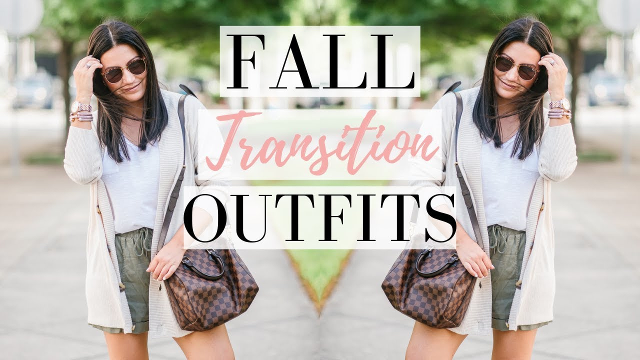 CASUAL FALL TRANSITION OUTFITS – 7 Ways to Style Sneakers | LuxMommy