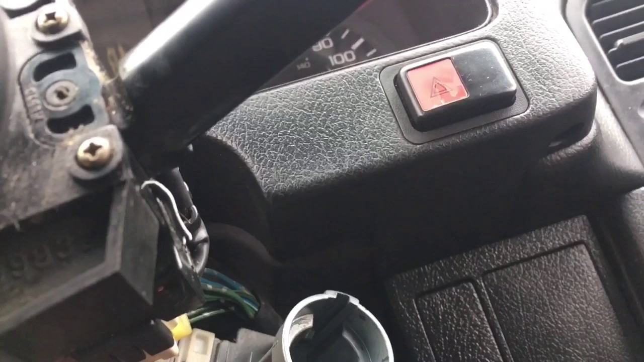 hight resolution of how to replace ignition lock cylinder in a 88 91 honda civic crxhonda crx ignition wiring