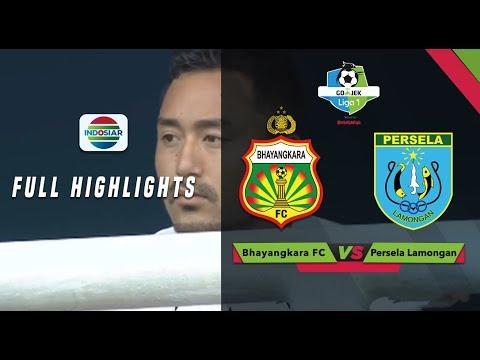 Bhayangkara FC (1) vs (1) Persela Lamongan - Full Highlight | Go-Jek Liga 1 bersama Bukalapak