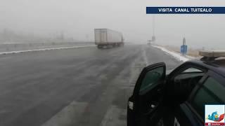 Caída de aguanieve y nevadas seguirán en México por frente frío 10