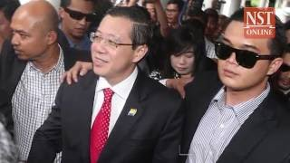 Guan Eng charged with two counts of corruption