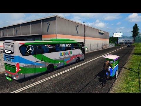 Bus Budiman Jetbus 3 Mercedez Benz Map Subang - Euro Truck Simulator 2