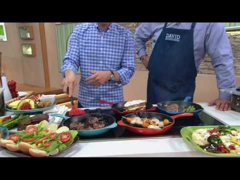 Le Creuset Enameled Cast Iron 10.25″ Round Grill Pan on QVC