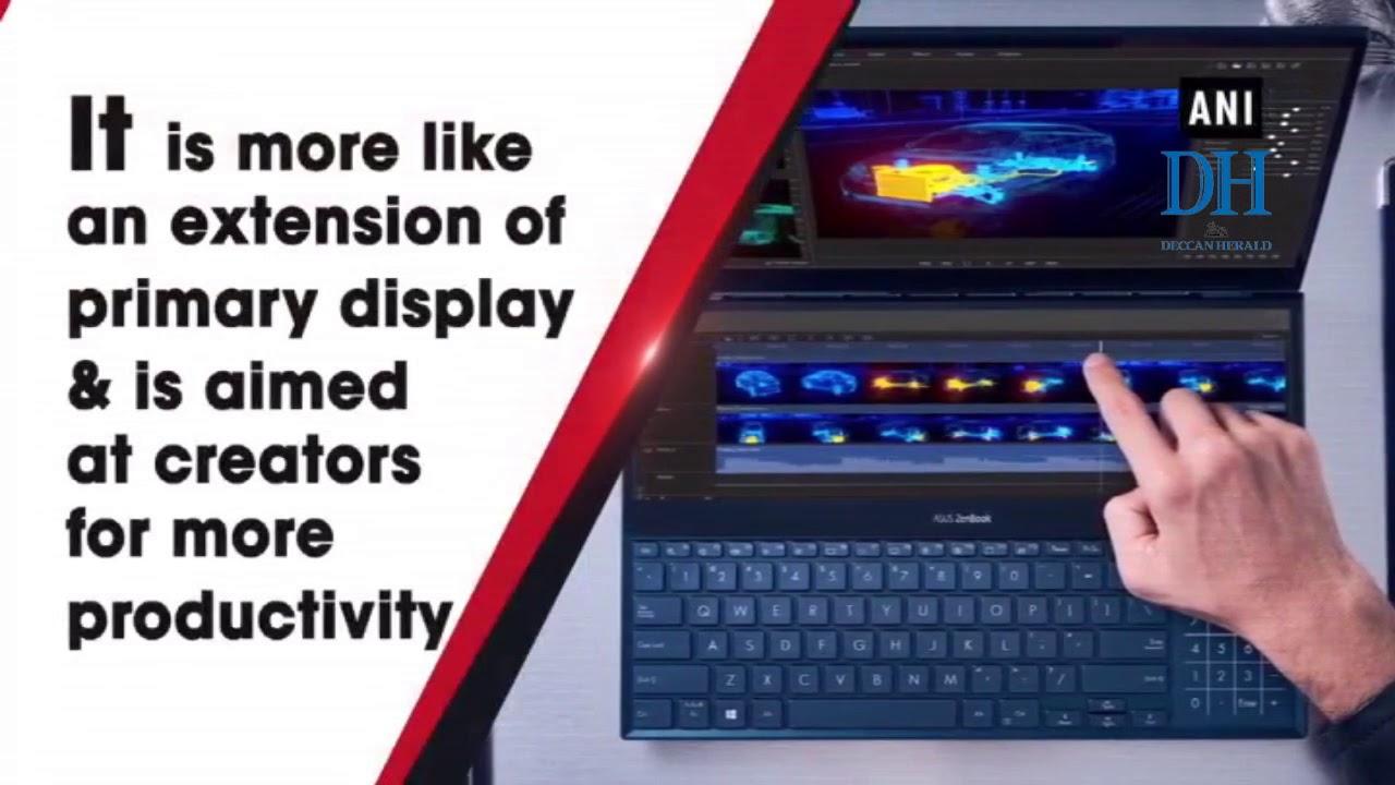 Asus announces dual-screen ZenBook Pro Duo laptop at Computex 2019