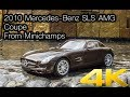 2010 Mercedes-Benz SLS AMG Coupe from Minichamps Available in 4K