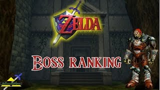 Ocarina of Time - Boss Ranking