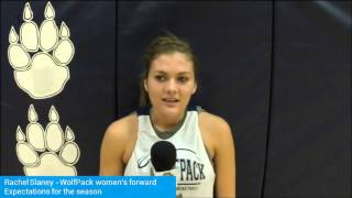 Freshman Rachel Slaney discusses fast start