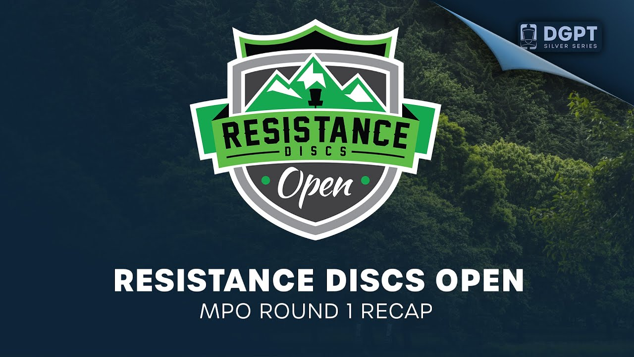 Resistance Discs Open Presented by Discraft | MPO Round 1 Recap