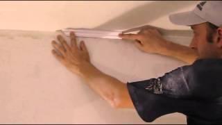 Наклейка галтелей,потолочного плинтуса, багета. Отделочные работы.(, 2013-09-01T18:45:24.000Z)