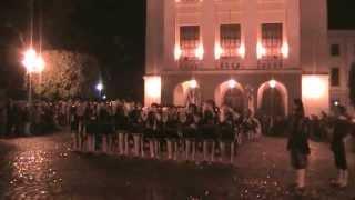 Esibizione dei Pistonieri Santa Maria del Rovo in gara nel 4° Trofe...
