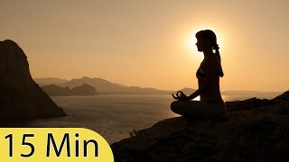 15 Minute Meditation Music, Relaxing Music, Calming Music, Stress Relief Music, Relax, ☯484B