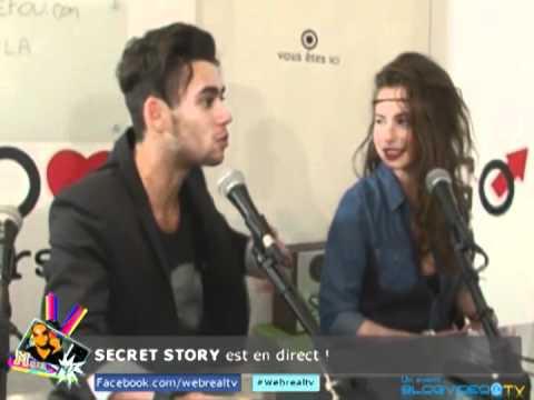 Simon et Juliette Interview exclusive dans la Webreal tv