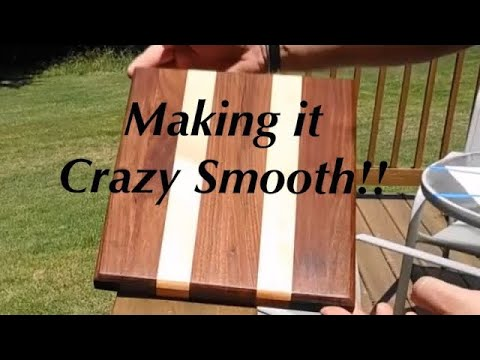 How To Finish A Wooden Cutting Board