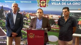 Presentación de las XX Jornadas de formación Telesforo Bravo - La Orotava