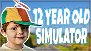 A 12 Year Old Simulator...