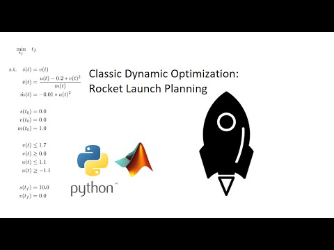 Rocket Dynamic Optimization Classic Problem - YouTube