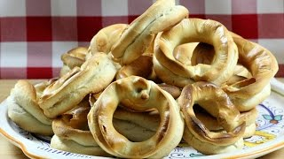 Taralli Baresi -  Rossella's Cooking with Nonna