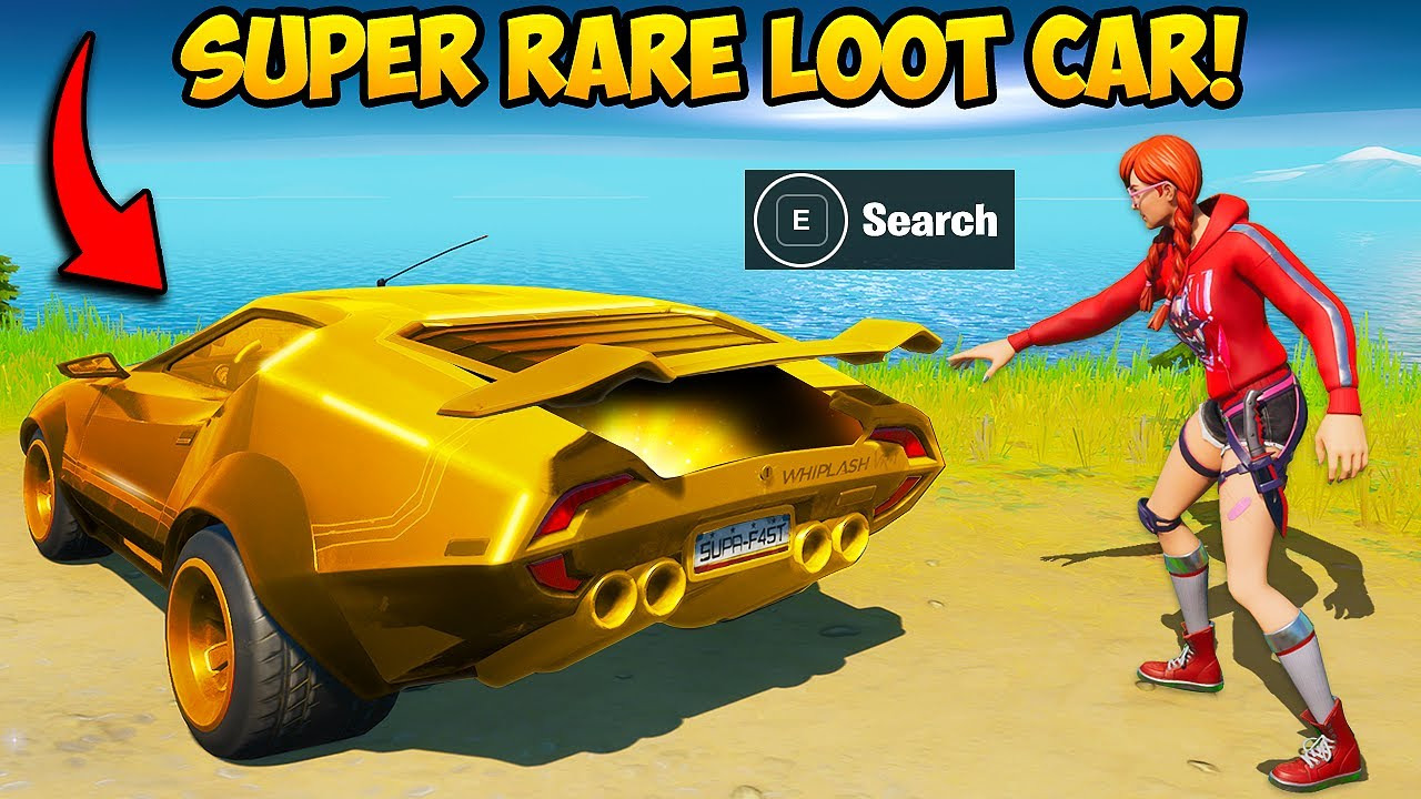 *SUPER RARE* LOOT CAR IS HERE!! - Fortnite Funny Fails and WTF Moments! #1004