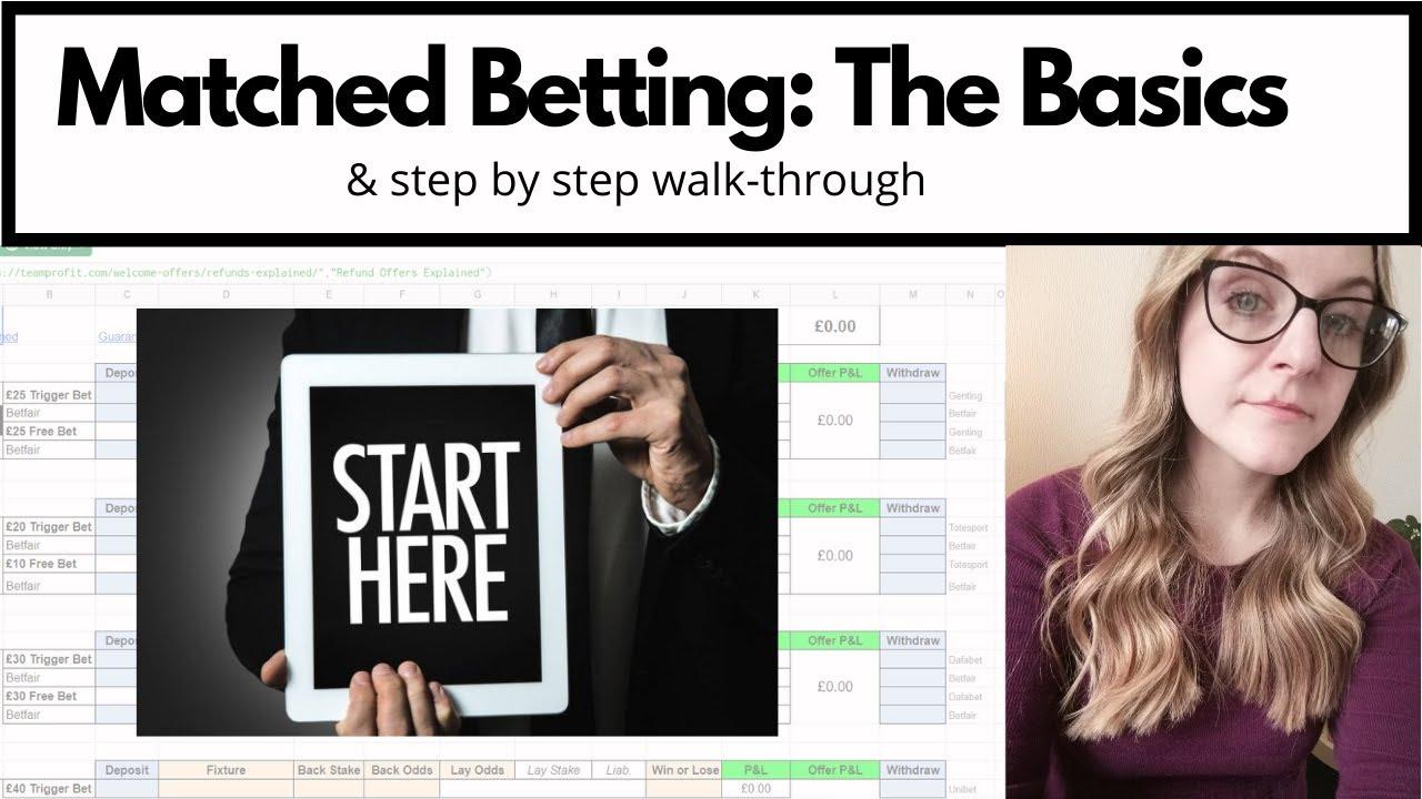 Matched betting explained lyrics a camara secrets online betting