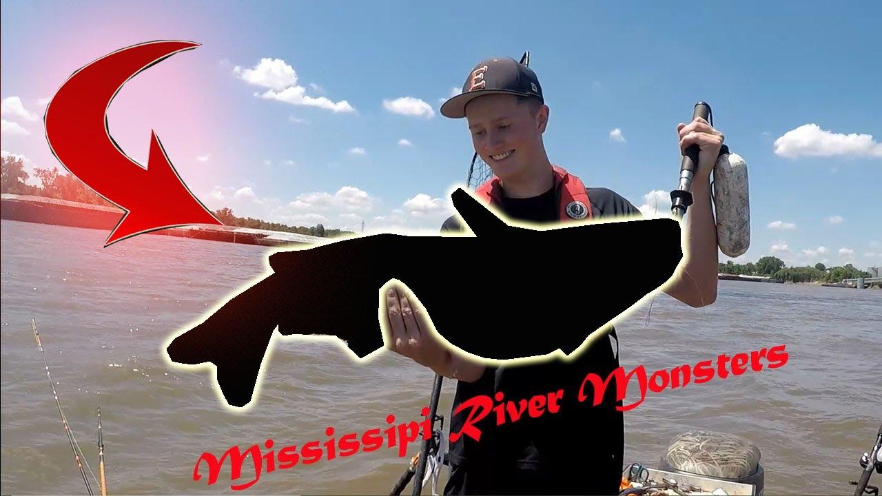 [River Monsters] Monster Catfish In MISSISSIPPI (STL Catfishing)