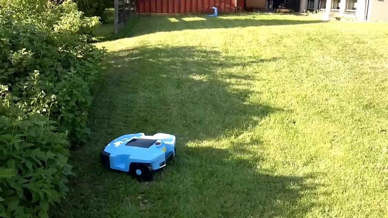 robotgräsklippare biltema