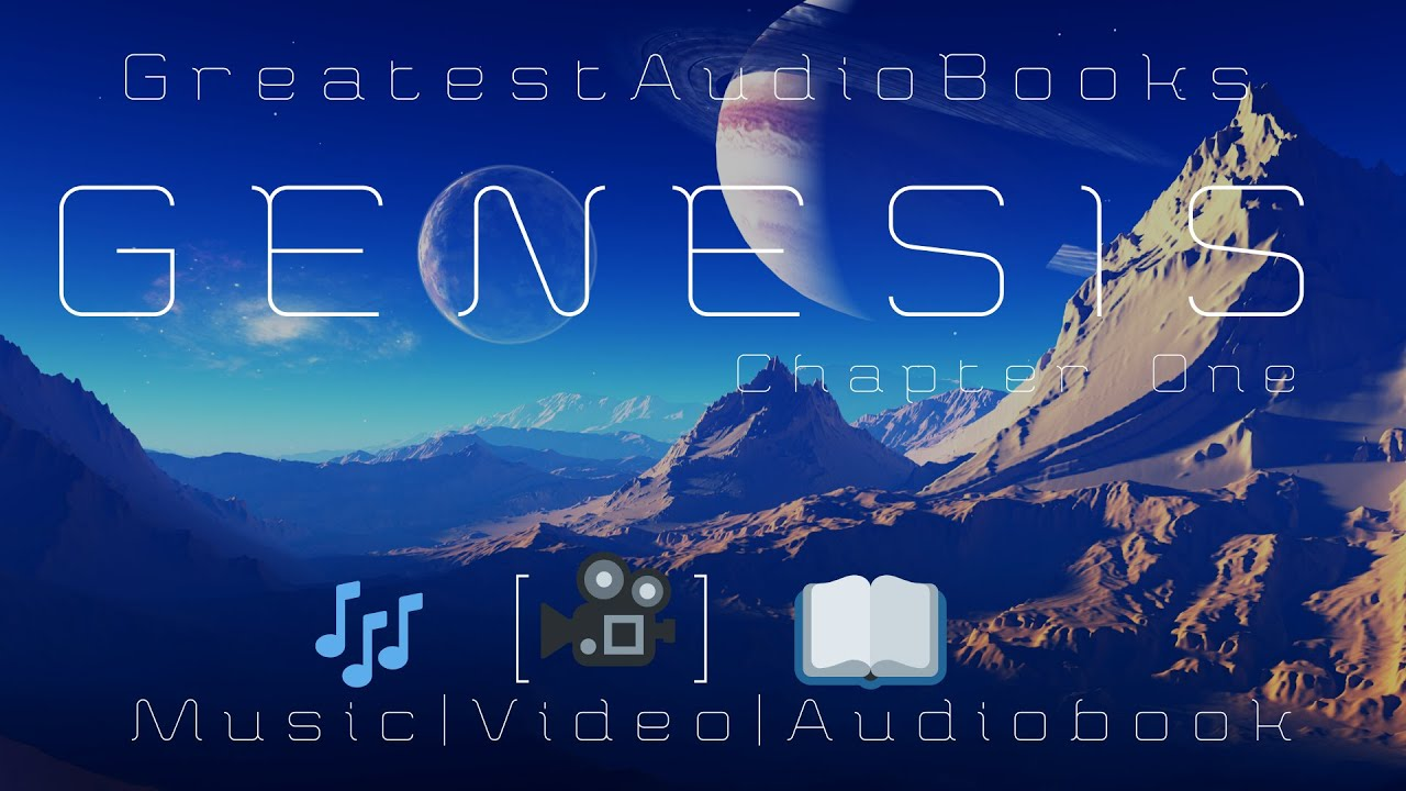 Genesis Chapter 1 (w/🎵 MUSIC- Dramatic AudioVisual 🎵🎧📖 | Greatest🌟AudioBooks
