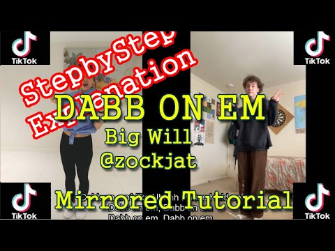 [Tiktok Dance Tutorial] DABB ON EM Big Will Lyrics+ Explanation l Slow + Easy