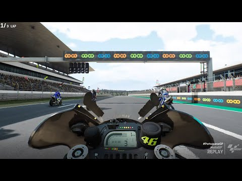 MotoGp 21- First Person View (Valentino Rossi) |