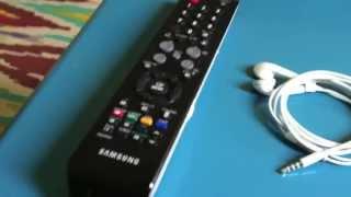 LG TV Service Menu without/ohne Logitech Harmony