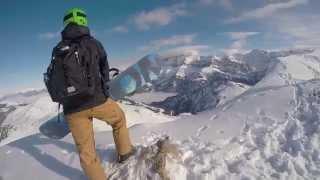 Snowboarding, Avoriaz.Go  Pro hero 4 (Action Bronson, Imported Goods)