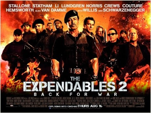 """Liberty Gamer Reviews """"The Expendables 2"""" (2012)"""