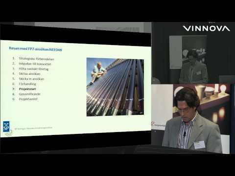 Nationell informationsdag Energi inom FP7 3/10 2012, del 1