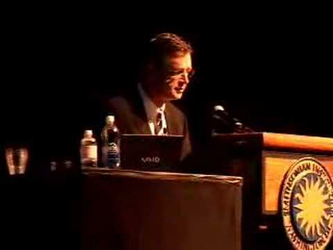 Michael Crichton Speech #2