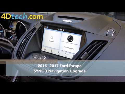 Add Factory Navigation to SYNC 3 | 2016+ Ford Escape