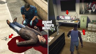 What Happens If You Visit Michael's Body After His Fall in GTA 5? (Michael's Secret Room Unlocked)