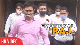 Raj Kundra Look EMOTIONAL in Latest Video outside Byculla Jail