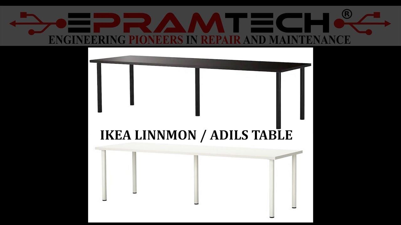 IKEA INDIA LINNMON / ADILS TABLE | TIME LAPSE BUILD | IKEA HYDERABAD | IKEA  INDIA