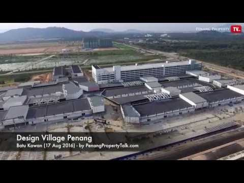 Design Village Penang – View from Above | Penang Property Talk