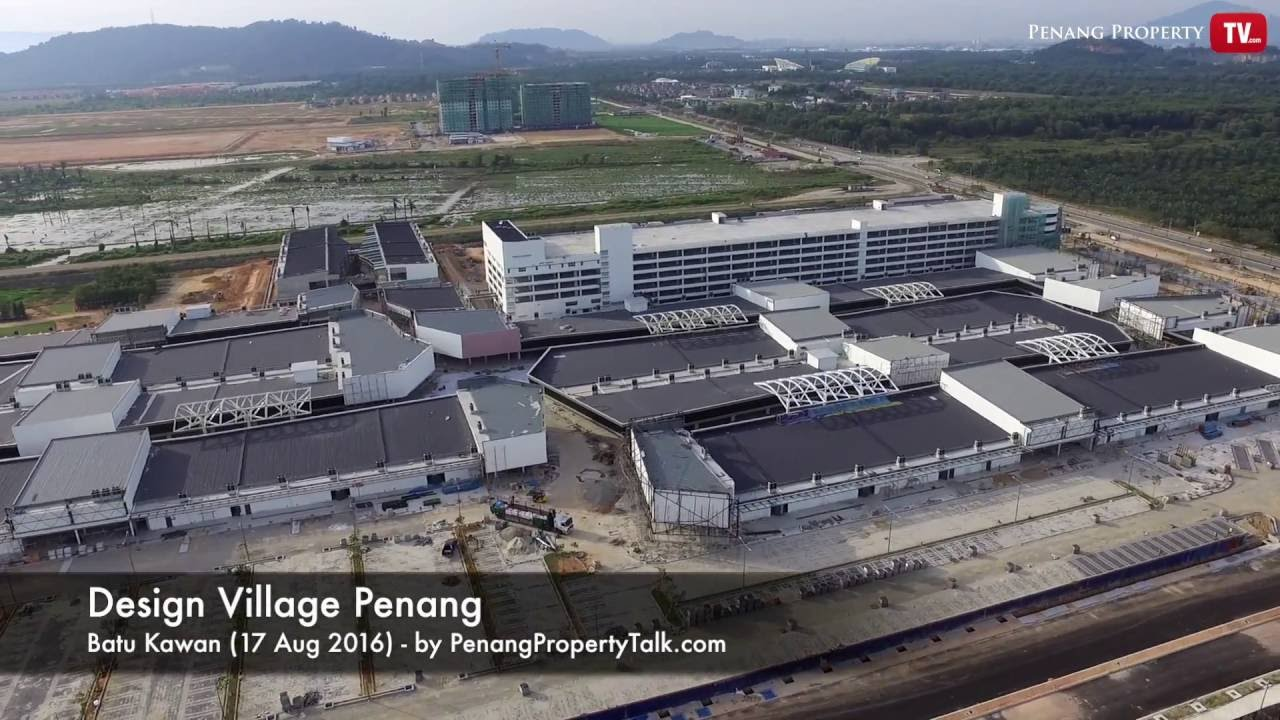 Design Village Penang View From Above Youtube