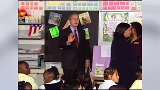 Behind the scenes: In Sarasota classroom, Bush learns of Sept. 11th attack