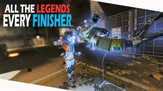 Apex Legends All Finishers With Every Legend In 60fps (in-game) (Season 2)