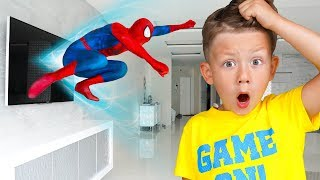 Senya saves Spider-Man and helps him return Home