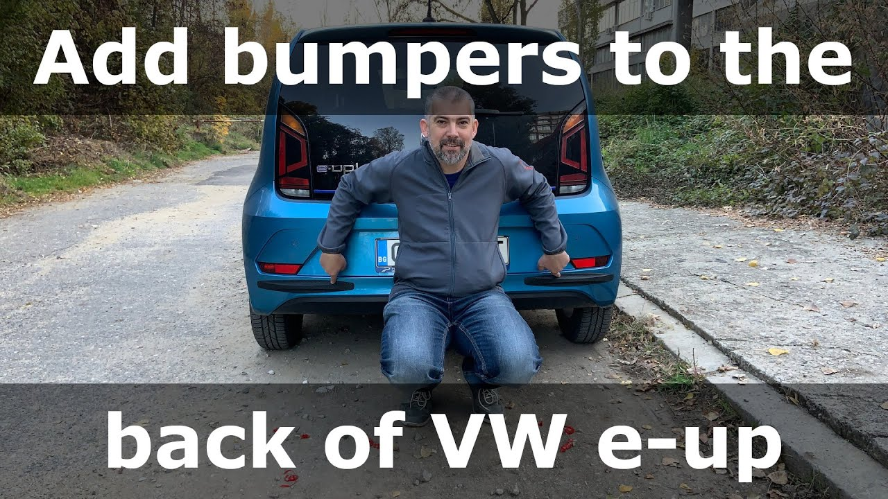 How to add protective bumpers to Volkswagen e-up