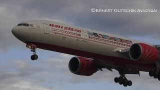Re-Inaugural! Air India Boeing 777-300ER Arriving + Departing | Toronto Pearson Int'l