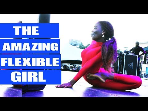 The most flexible girl in NIGERIA!