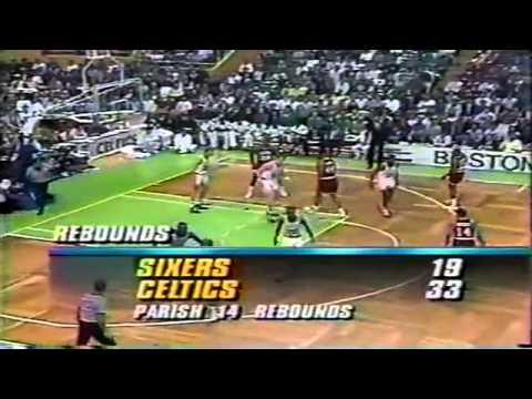 1990-91 Sixers vs. Celtics (4/7)