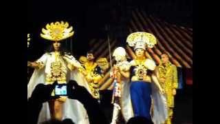 AMERICA MORENA-BAILE INCA-Homenaje a Bolivia 2012