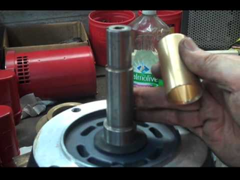 SHAFT SLEEVE REMOVAL INSTALLATION CLOSE COUPLED MOTOR MOUNTED PUMP JM JP  how to tutorial