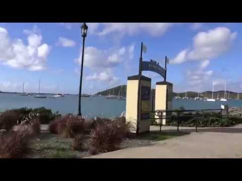 Charlotte Amalie, St. Thomas, USVI - Drive from the port to town HD (2015)