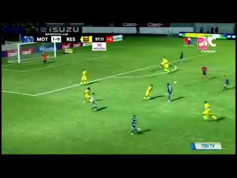 Motagua Real España vivo liga nacional de Honduras